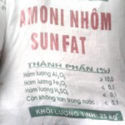 Amoni Nhôm sunfat